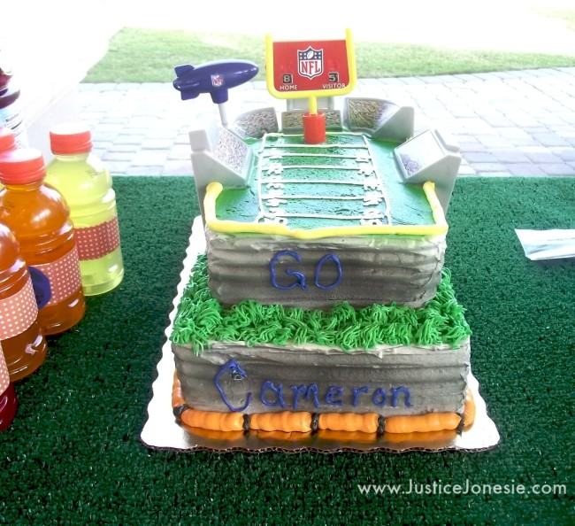 Planning An All Star Themed Birthday Party - All star birthday cake