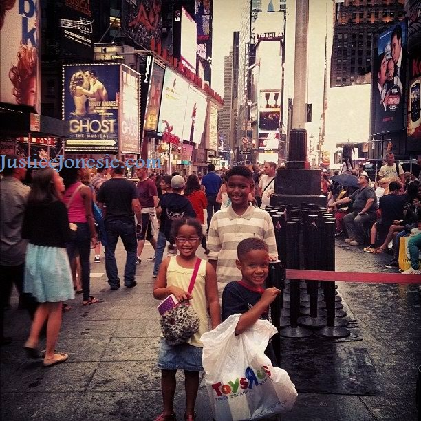 Visiting New York City With Kids