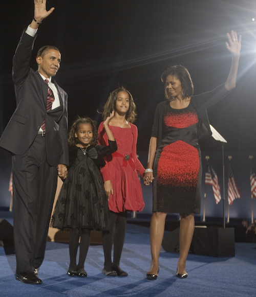 2008 obama family acceptance speech
