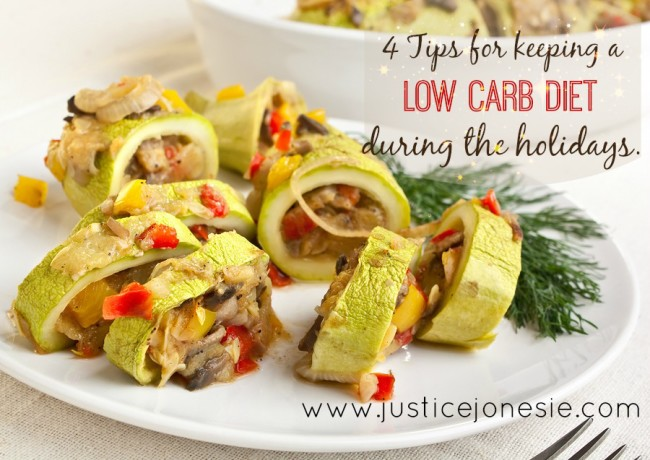 4 Tips For Following A low Carb Diet During Holidays