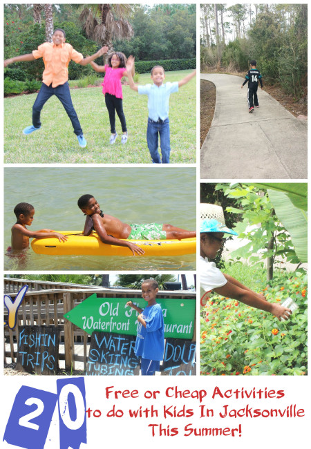 20 Free Or Cheap Activities to Do With Kids In Jacksonville This Summer!