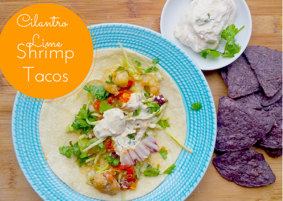 Recipe: Easy Cilantro Lime Shrimp Tacos