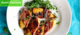 Recipe: Bacon Wrapped Sweet Plantains
