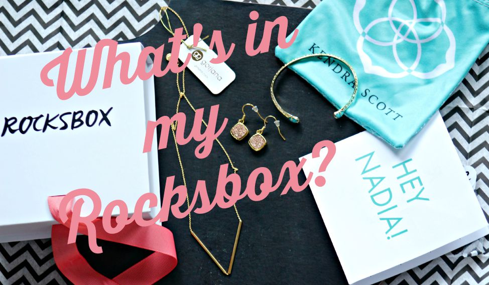 Rocksbox Subscription Box Reveal!! See what's in my RocksBox!