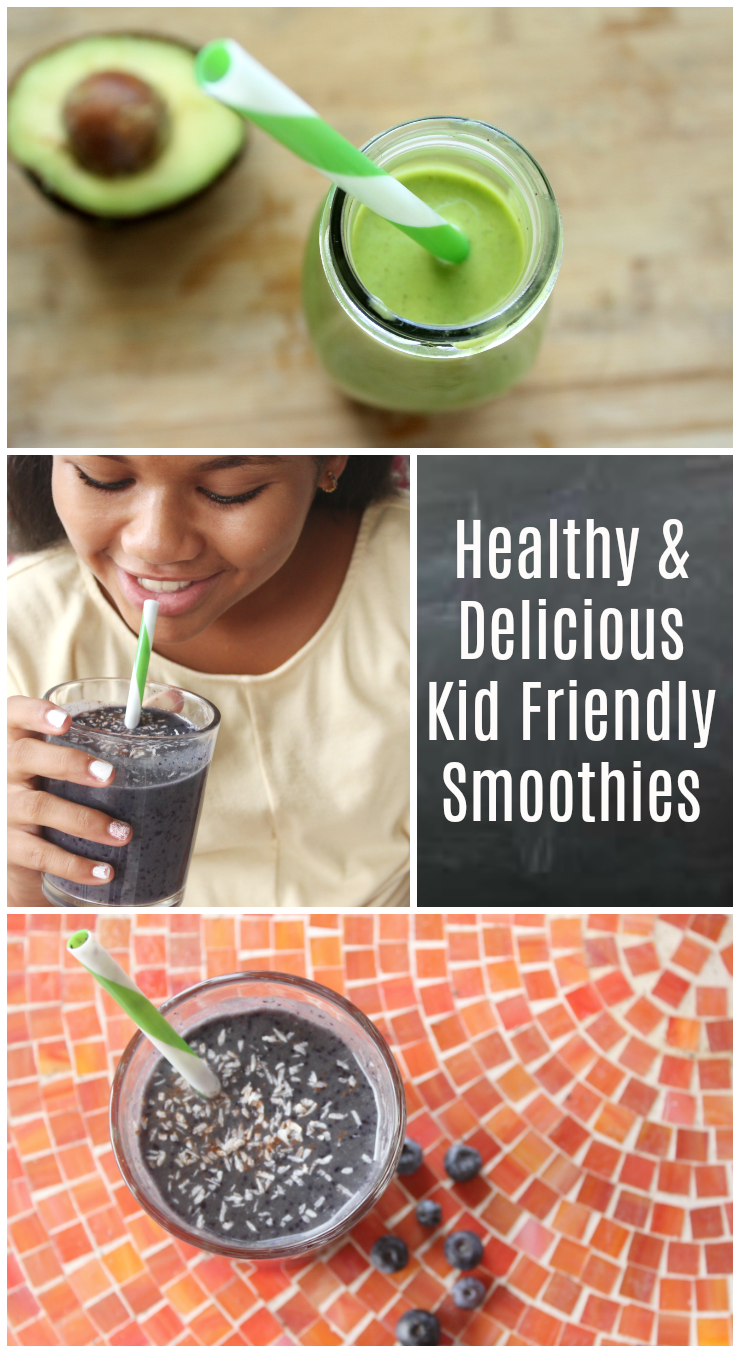 Healthy and Delicious Kid Friendly Smoothies