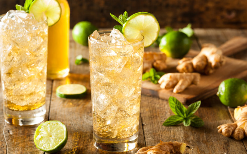 Summer Cocktail Recipe: Whisky & Ginger Highball
